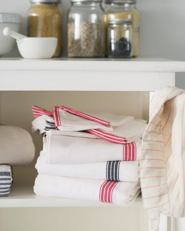 Mungo Provincial Stripe Tablecloth. Linen & cotton tablecloth woven in Plettenberg Bay, South Africa