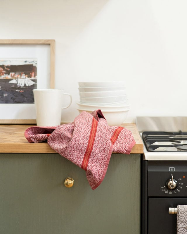Mungo Boma Cloth. Pure cotton kitchen linen, ethically woven in South Africa