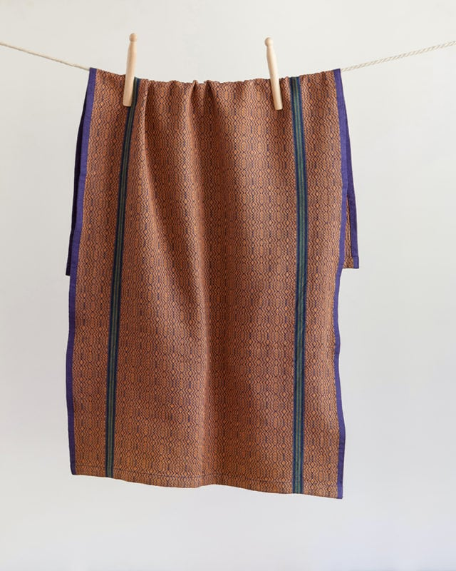 Mungo Boma Cloth. Pure cotton kitchen linen designed, woven & made at the Mungo Mill in South Africa