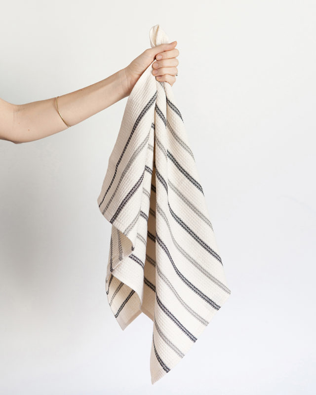 Mungo Cotton & Linen Waffle Weave kitchen cloth. Woven in South Africa at the Mungo Mill