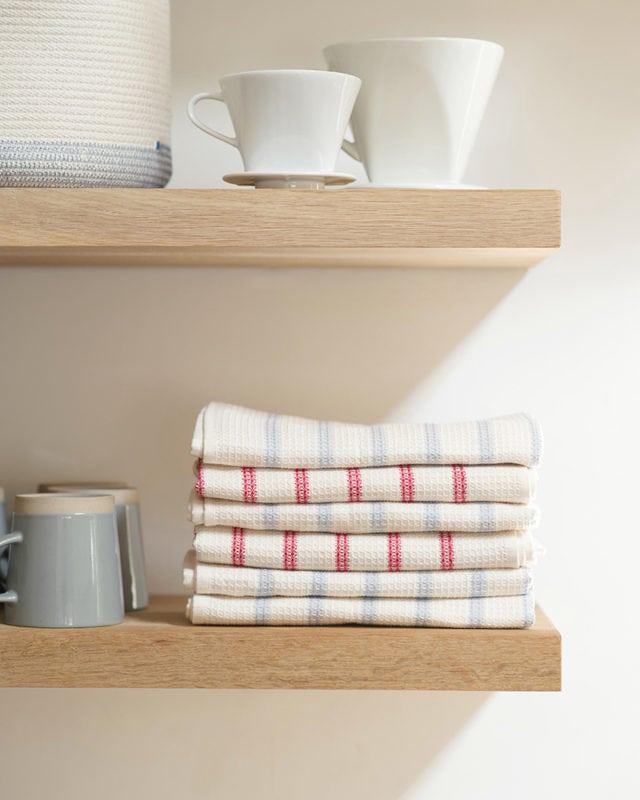 Mungo Cotton & Linen Waffle Weave kitchen cloth