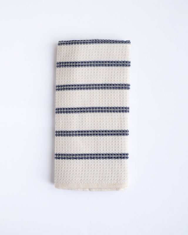 Mungo Cotton & Linen Waffle Weave Tea Towel. Robust, durable & absorbent. Designed, woven, made in South Africa