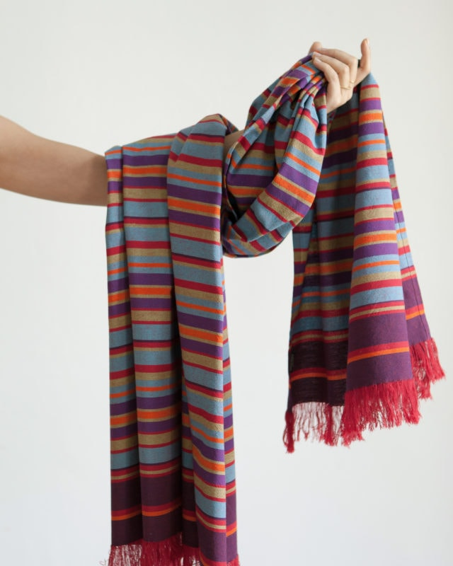 The Mungo 100% Cotton Kikoy South is a colourful and versatile beach wrap, sarong, head wrap or towel for tropical beach holidays