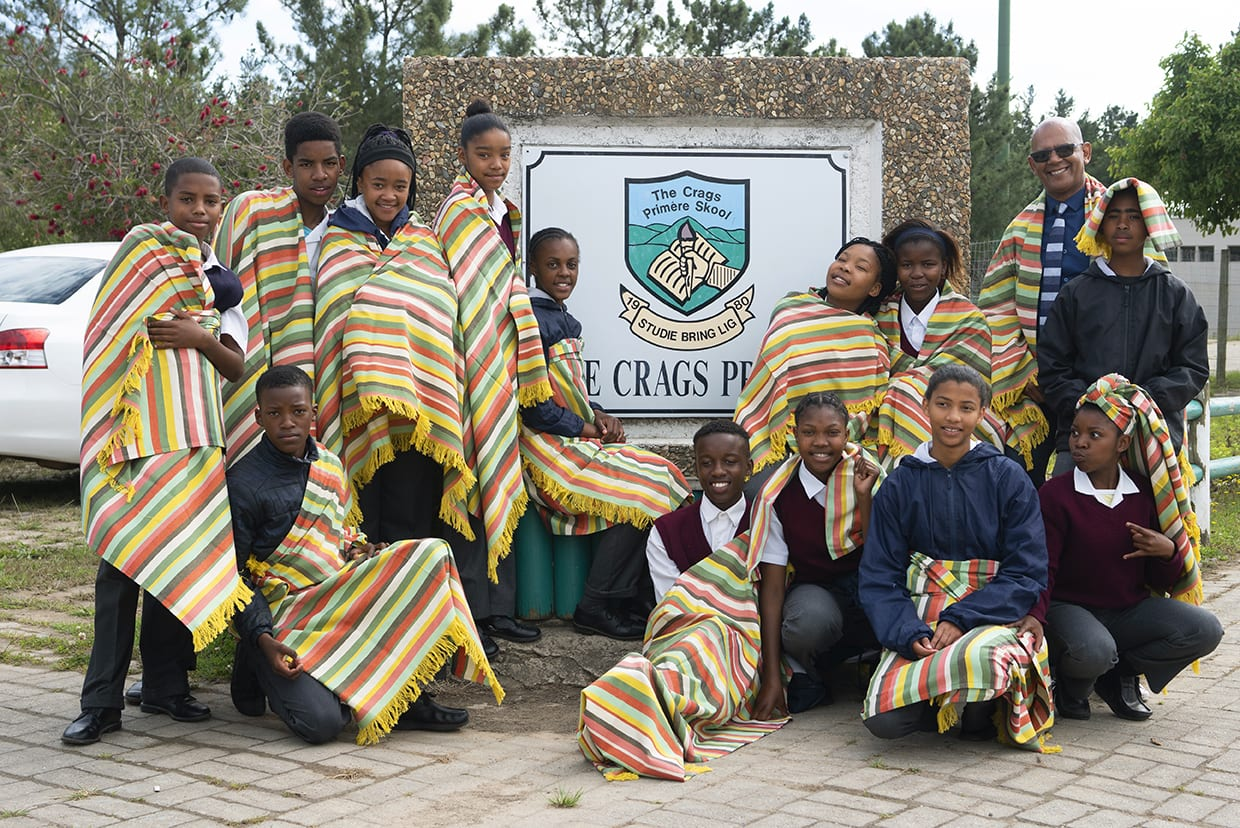 Mungo MOVE Kids of Kurlands project - students of Crags Primary at the Mungo Mill