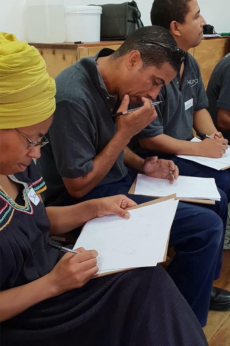 Mungo staff workshops - development workshops held through the Mungo CSR, MOVE