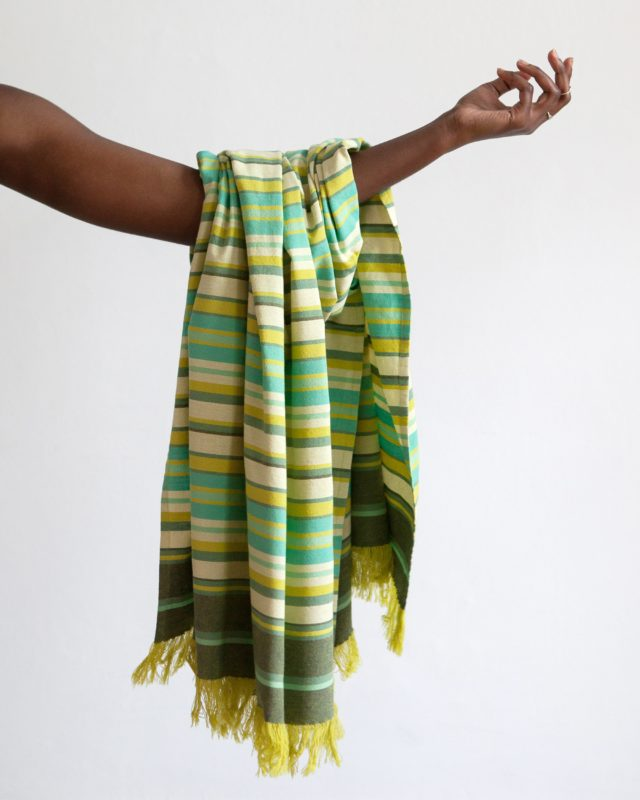 Mungo South Kikoi. A versatile pure cotton garment used as a scarf, shawl, towel, skirt, baby sling & more. Designed, woven & made in South Africa